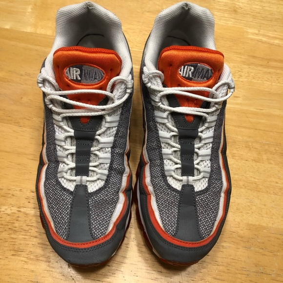 fee774602c97 Nike Air Max 95 Sneakers Shoes Orange men s 11.5. M 5bbbfaf4c617771f6437d506